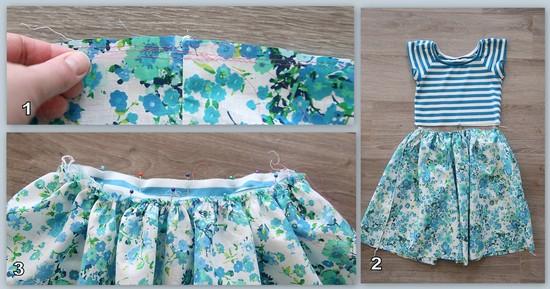 Пышная юбка для детского платья