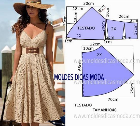 Платье с отрезной юбкой размер 40